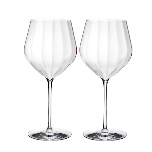 Elegance Optic Waterford Crystal Cabernet Sauvignon Pair