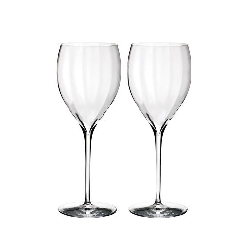 Waterford Elegance Optic Sauvignon Blanc Pair