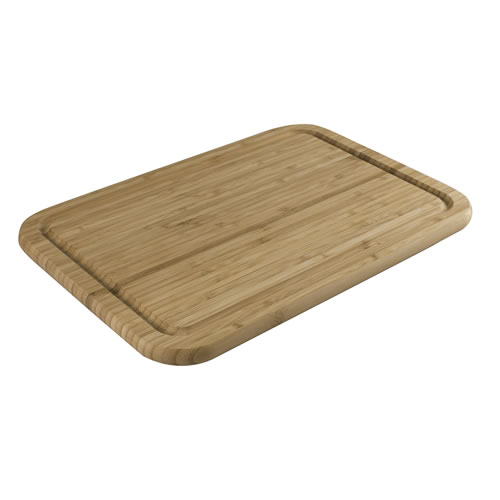 Bamboo End Grain Reversible Chopping Board with Juice Cruve