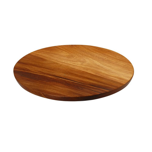 Round Cheese Board made from Blackwood 28x2cm