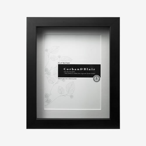 Box Frame 10x8 in Black