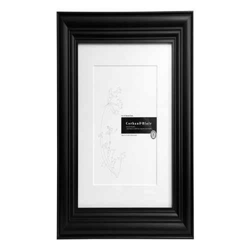 Beauty Photo Frame 14 x 12 in Black