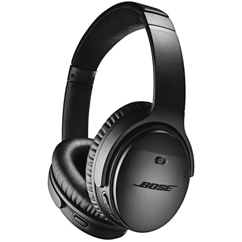 Bose QuietComfort II 35 Wireless Over Ear Headphones Black