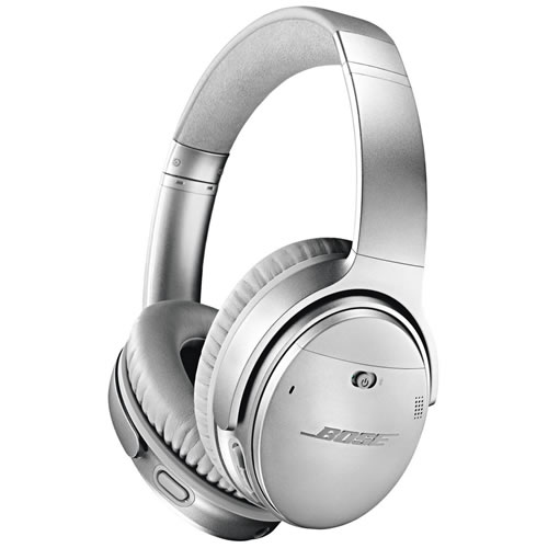 Bose QuietComfort II 35 Wireless Headphones Silver