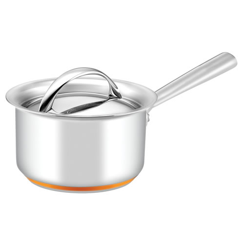Per Vita Covered Saucepan with Copper Base 14cm 1.2L