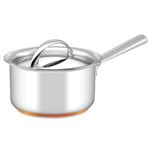 Per Vita Covered Saucepan with Copper Base 16cm 1.9L