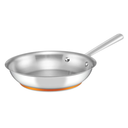 Per Vita Open French Skillet with Copper Base 24cm