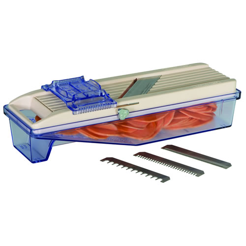 Vegetable Slicer with Catch Box 64mm