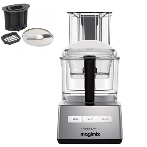 Magimix 4200XL Chrome with Bonus Dicing kit valued at $199