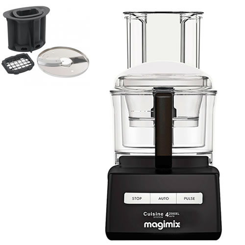 Magimix 4200XL Black with Bonus Dicing kit valued at $199
