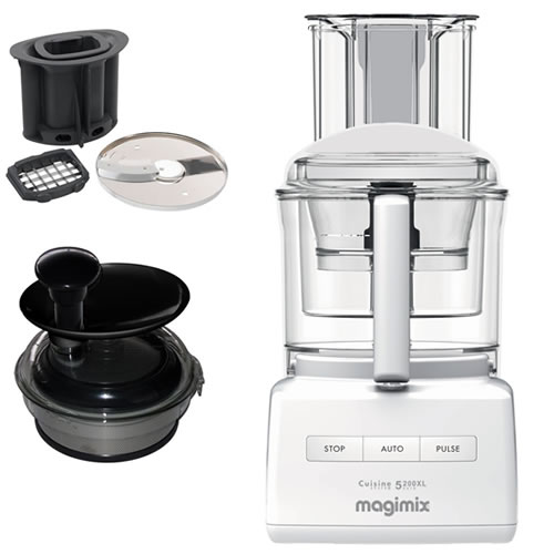 Magimix 5200XL White with Bonus juice extractor valued at $249