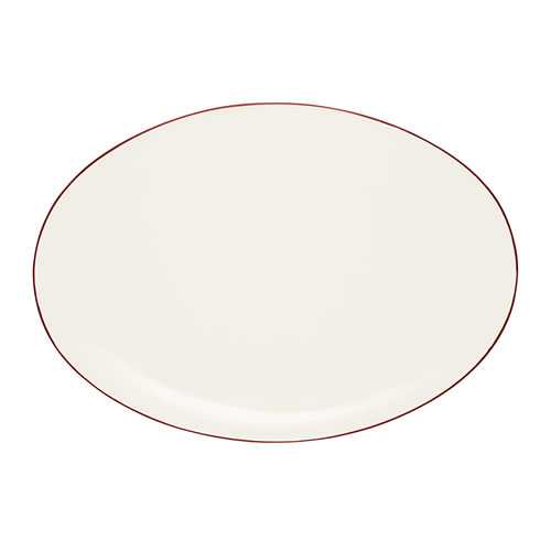 Colorwave Raspberry Oval Platter