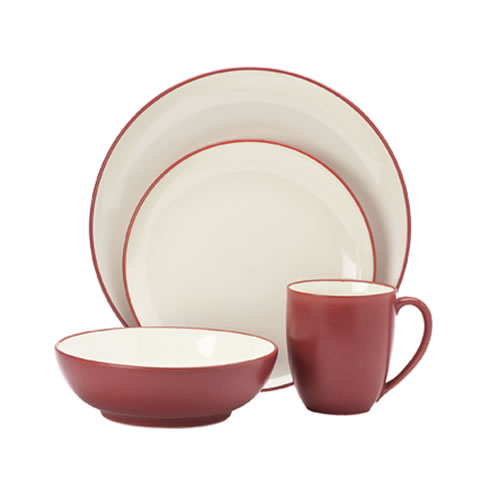 Colorwave Raspberry 16pce Place Setting