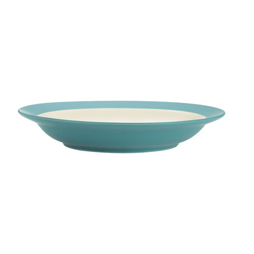 Colorwave Turquoise Pasta Bowl