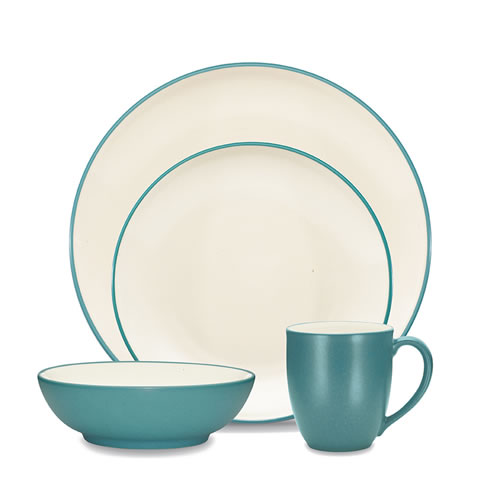 Colorwave Turquoise 16pce Place Setting