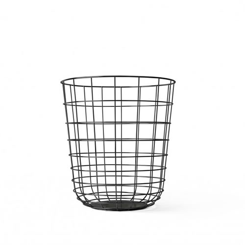 Menu Wire Bin in Black