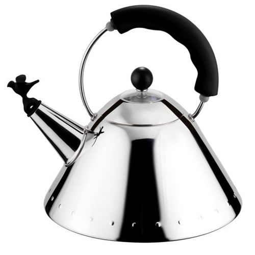 Whistling Bird Kettle with Black Handle