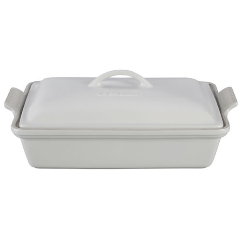 Cotton Heritage Covered Rectangular Dish 33cm