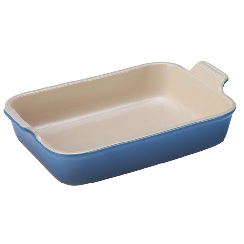 Marseille Blue Heritage Deep Rectangular Dish 32 cm