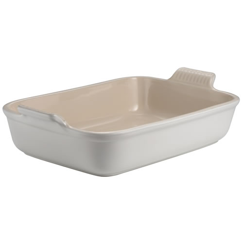 Cotton Heritage Deep Rectangular Dish 32 cm