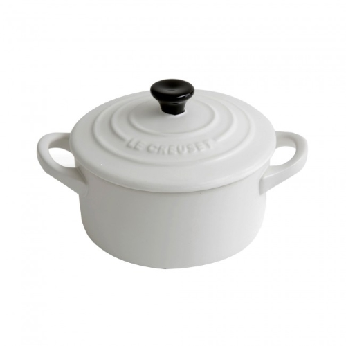 Stoneware Mini Round Casserole Cotton