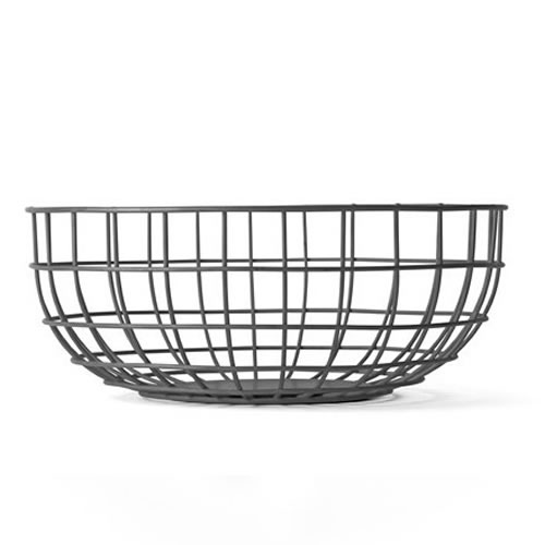 Menu Norm Wire Bowl in Black
