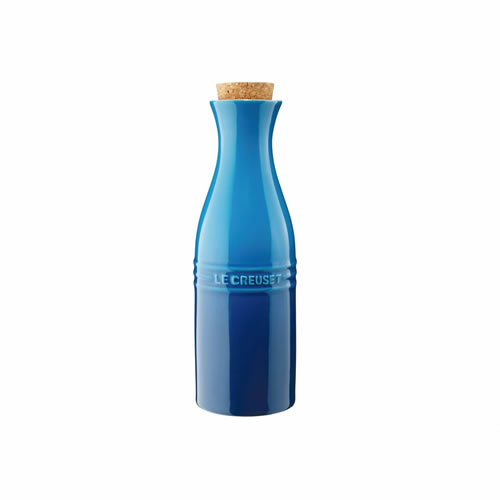 Marseille Blue Carafe 750ml with cork