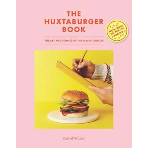 Huxtaburger Book The Art and Science of the Perfect Burger