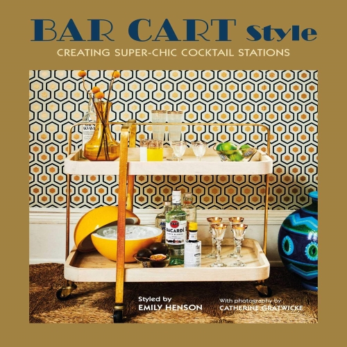 Bar Cart Style: Creating Super-Chic Mobile Cocktail Stations