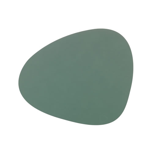 LIND DNA Table Mat Pastel Green Curve L