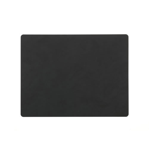 LIND DNA Table Mat Black Square L