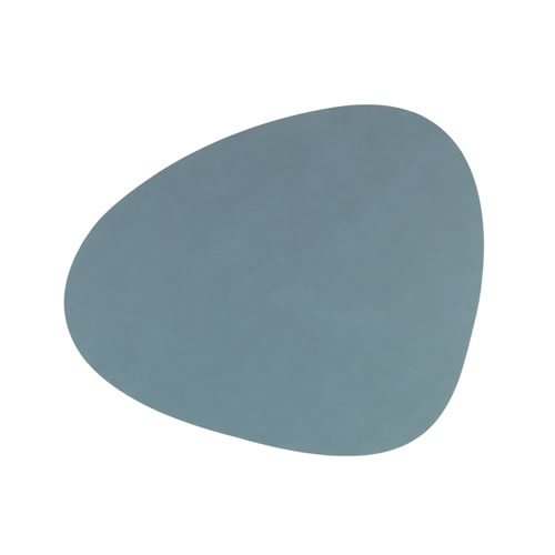LIND DNA Table Mat Light Blue Curve L