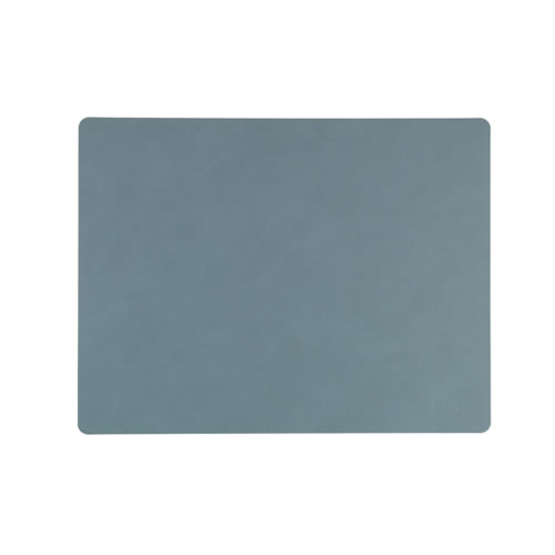 LIND DNA Table Mat Light Blue Square L