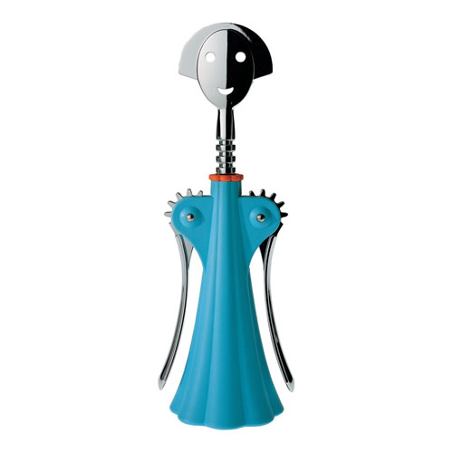 Anna G Corkscrew in Blue Height 24.5cm