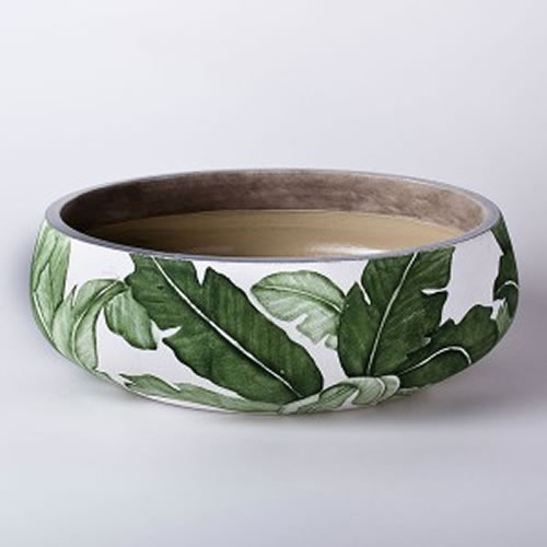 Palm Leaf Large Bowl