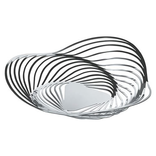 Alessi Trinity Basket in Stainless Steel