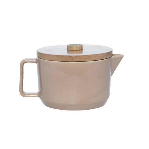 Alfie Teapot Deep Clay
