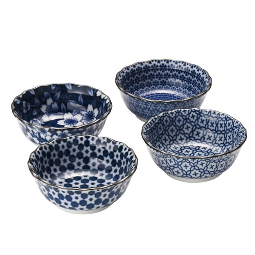 Sometsuke Blues Bowls