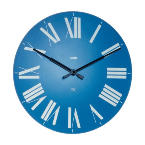 Firenze Wall Clock in Blue