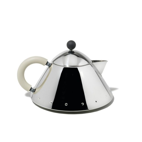 Teapot with White Handle
