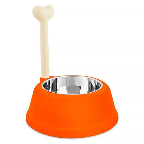 Lupita Dog Bowl in Orange