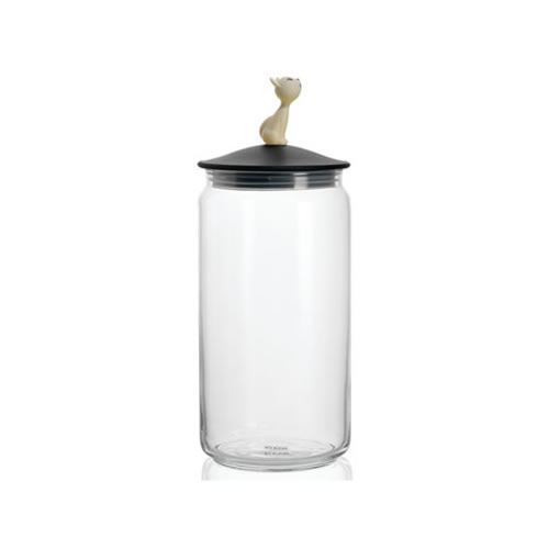 Mio Jar for Cat Food in Black