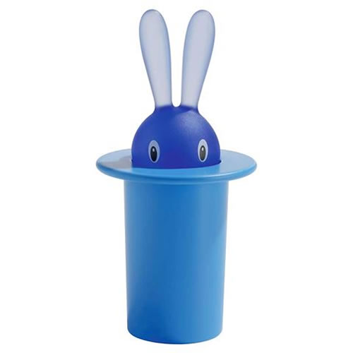 Magic Bunny Toothpick Holder in Blue