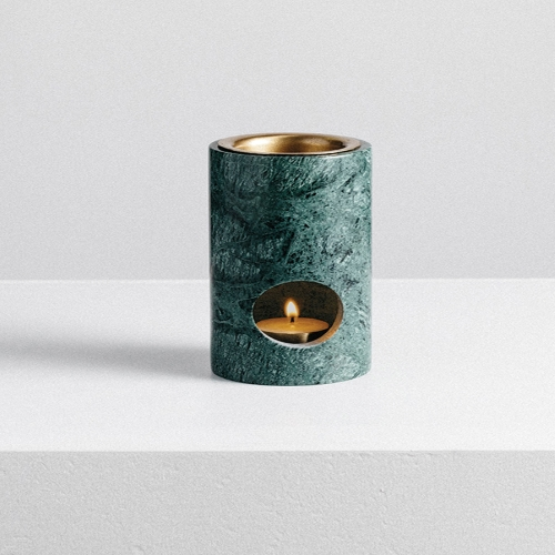 Synergy Oil Burner - Green Marble