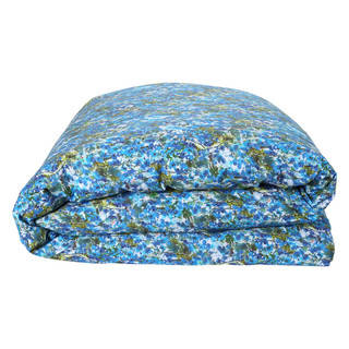 Bunch of Blue Cotton Quilt Cover - King