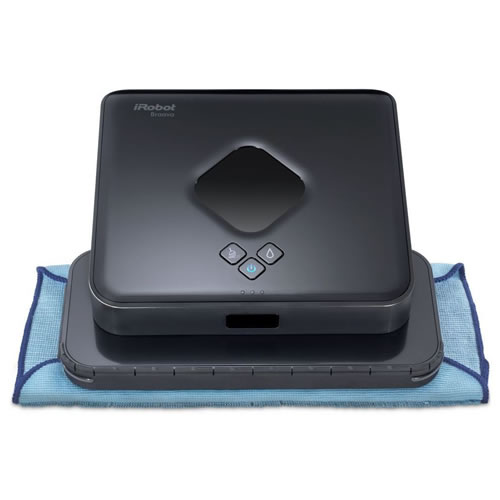 Roomba Braavai Robot 380T Floor Mopping Robot Black