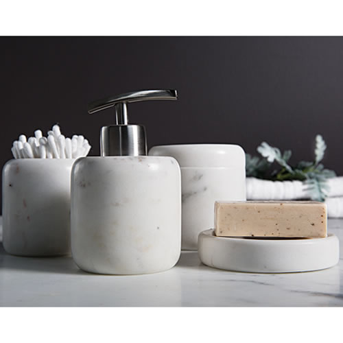 Osso Marble Bathroom Set