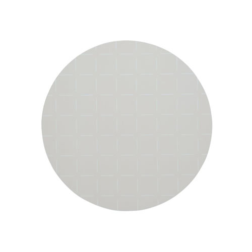 Broken Check Blush Round Placemat
