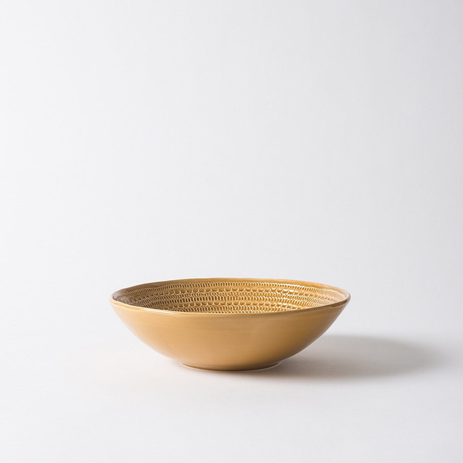 Lagom Round Bowl Citron Small