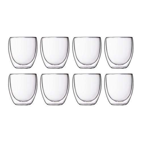 Pavina Twin Wall 250ml 6+2 Set